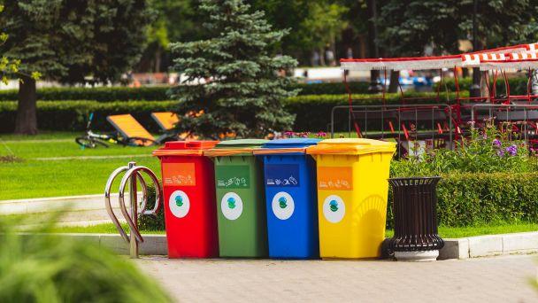 Vývoz triedeného odpadu - plasty, kovy, tetrapaky, papier