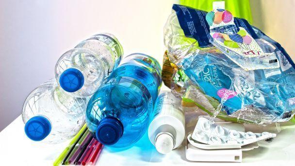 Vývoz triedeného odpadu - PLASTY (tetrapaky, kovy)