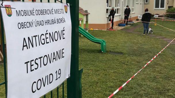 Antigénové testovanie pre obyvateľov Hrubej Borše