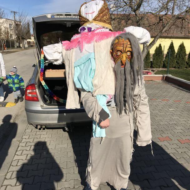 Fašiangový karneval a pálenie Moreny