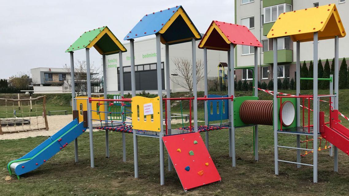 Detské ihriská sú prístupné od 02.06.2020