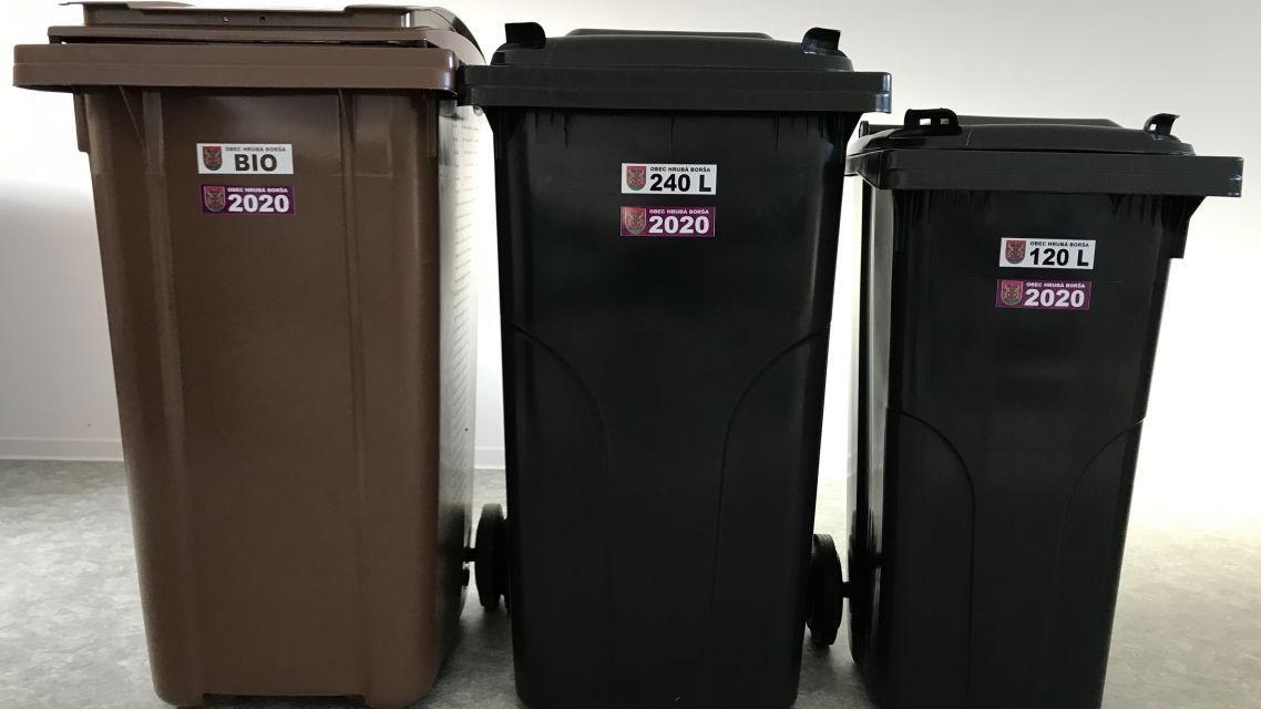 Vykladajme nádoby na komunálny odpad vždy večer pred vývozom a nie až ráno