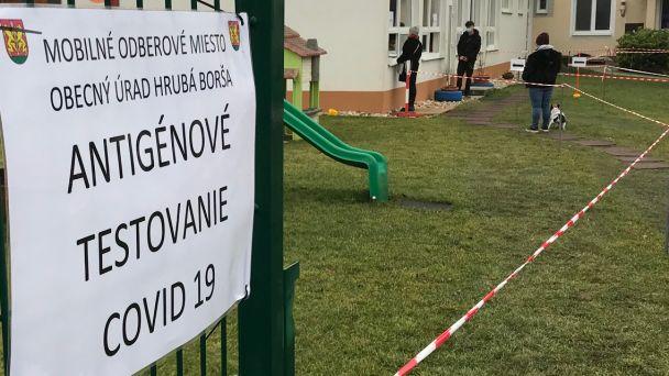 Ag testovanie pre Boršanov pripravujeme aj na túto sobotu 13.02.2021